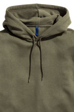 Hooded top - Dark khaki green - Men | H&M CN 3